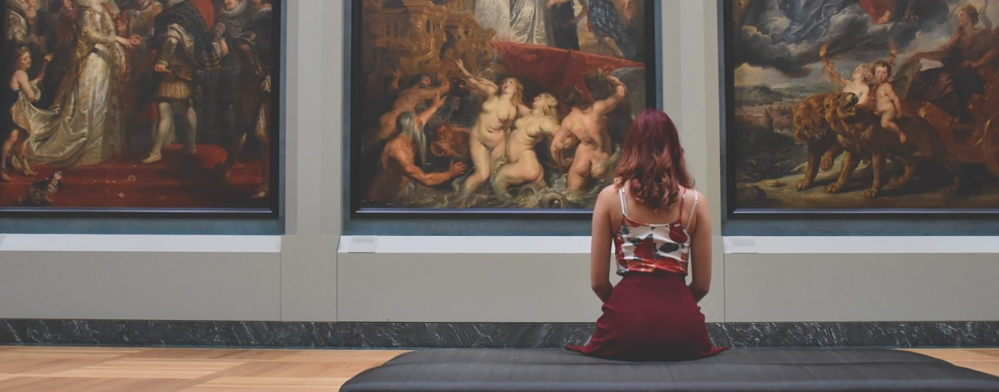 Paintings in Film | Films 'inspired' by Paintings | Woman looking at painting